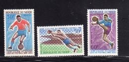 NIGER 1966 WORLD CUP SOCCER ENGLAND Coupe Du Monde De Football COPPA DEL MONDO DI CALCIO COMPLETE SET SERIE COMPLETA MNH - Niger (1960-...)