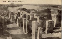 CPA Ostia Scavi Sulla Riva Del Tevere - Roma (Rome)