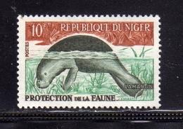 NIGER 1962 FAUNA PROTECTION PROTECTION DE LA FAUNE PROTEZIONE DELLA FAUNA 10fr MNH - Niger (1960-...)
