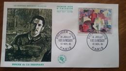 Premier Jour  FDC.. . ROGER  DE  LA FRESNAYE .. 1961 .. PARIS... Peintre - Other