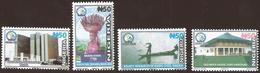 Nigeria 2018 Port Harcourt Fishing Canoe Agriculture Mint Set - Nigeria (1961-...)