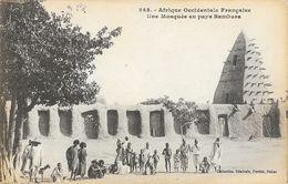 Afrique Occidentale Française - Une Mosquée En Pays Bambara - Collection Fortier - Carte N° 343 Non Circulée - Africa