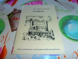 Alsace Les Chateaux D'Andlau Histoire - Alsace