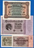 All  4  Billets - [ 4] 1933-1945 : Third Reich