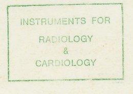 Meter Cut Netherlands 1984 Radiology - Cardiology - Gezondheid