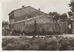 C. P. - PHOTO - VENCE - DOMAINE - CAMPING - LA BERGERIE - MAISON D'HABITATION DES PROPRIÉTAIRES - P. EGGERMONT - - Vence