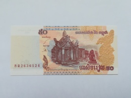 CAMBOGIA 50 RIELS 2002 - Cambogia
