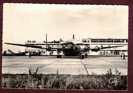 """Le Breguet Deux-Ponts """" Provence """" Avion De Transport * Compagnie Aérienne Air France * Aviation Aéroport * Quadrimoteur - 1946-....: Ere Moderne"""