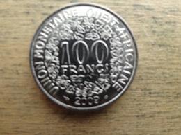 West Africa  100  Francs  2009  Km 4 - Autres – Afrique