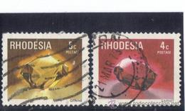 Rhodesia 1978  -  Tvert 302 + 303  ( Usados ) - Sellos