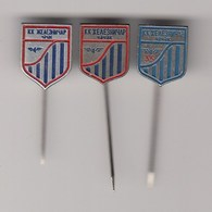 3 Pins Pin Badge Basketball Club KK Zeleznicar Cacak Serbia Yugoslavia - Basketball