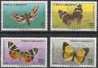 Turquie Turkije 1987  Yvertn° 2525-28 *** MNH Cote 14,00 Euro Faune Papillons Vlinders - 1921-... République