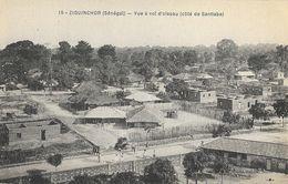 Sénégal: Ziguinchor - Vue à Vol D'oiseau (côté De Santiaba) - Cliché Mme Sémon - Carte N° 15 Non Circulée - Non Classés