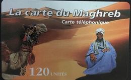 Paco \ FRANCIA \ Remote Memory \ FR-PRE-MAG-0001D ? \ La Carte Du Maghreb - Camel And Beduin \ Usata - Frankrijk