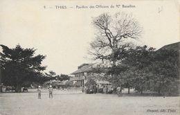 Sénégal: Thies - Pavillon Des Officiers Du 92e Bataillon En 1927 - Edition Dupont - Carte N° 9 - Non Classés
