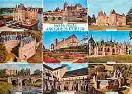 18 - Cher - Route De Jacques Coeur - Multivues - Carte Neuve - Voir Scans Recto-Verso - France