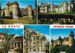 18 - Cher - Route De Jacques Coeur - Multivues - Chateaux - Carte Neuve - Voir Scans Recto-Verso - France