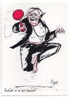 CPM   CARTES POSTALES ET COLLECTION  ILLUSTR. RAYMOND PAGES     PORTRAIT DE BILL BOCKET - Bourses & Salons De Collections