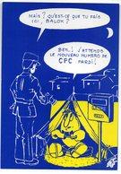 CPM   CARTES POSTALES ET COLLECTION  ILLUSTR. GEORGES NEMOZ    QU EST CE QUE TU FAIS ICI BALOX ? - Bourses & Salons De Collections
