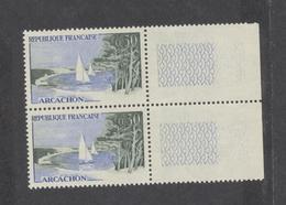 Timbres FRANCE   Variétés  1961 Arcachon 0,30f  N° 1312a  Neufs Avec Colle D'origine - Variétés Et Curiosités