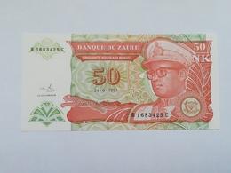 ZAIRE 50 NOUVEAUX MAKUTA 1993 - Zaire