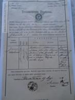 ZA187.4  Old Document  Poland  Polanka Wielka  Oświęcim - 1871 - Joannes Stephanus SIKORA - Naissance & Baptême