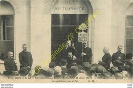 37. TOURS .  Consécration Du Temple Antoiniste 21 Aout 1921 . Mère Antoine Opérant Des Guérisons Par La Foi . - Tours