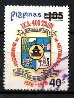 PHILIPPINES. N°1261B Oblitéré De 1981. Armoiries De Meycauayan. - Timbres
