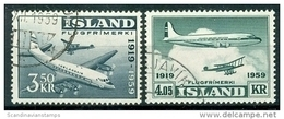 IJsland 1959 Luchtpost Serie GB-USED. - 1944-... Republik