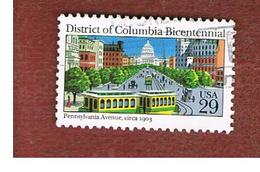 STATI UNITI (U.S.A.) - SG 2621  -    1991 DISTRICT OF COLUMBIA BICENTENARY      -   USED - Used Stamps