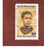 STATI UNITI (U.S.A.) - SG 2622  -    1991 BLACK HERITAGE: J.E. MATZELIGER, INVENTOR      -   USED - Verenigde Staten