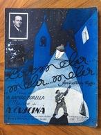 SPARTITO MUSICALE VINTAGE CARMELA ..MELA..MELA Di BORELLA-CUSCINA'  CON FOTO DI ENZO FUSCO  ED. A.G.CARISCH & C. MILANO - Musica Popolare