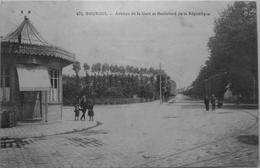 Avenue De La Gare Et Boulevard De La République - Bourges