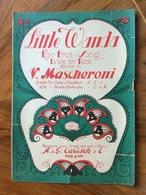SPARTITO MUSICALE VINTAGE  LITTLE WANDA  Di VITTORIO MASCHERONI  CON FOTO   ED. A.G.CARISCH & C. MILANO - Musica Popolare