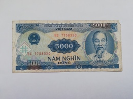 VIETNAM 5000 DONG 1991 - Vietnam