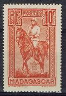 Madagascar (French Colony), Joseph Galliéni, French Soldier, 10f., 1931, MH VF - Madagascar (1889-1960)
