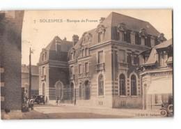 CPA 59 Solesmes Banque De France - Solesmes