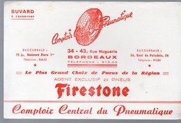 Bordeaux (33 Gironde) Buvard FIRESTONE Pneumatiques (PPP10398) - Automotive