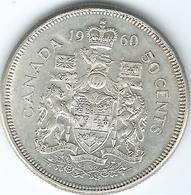 Canada - Elizabeth II - 1960 - 50 Cents - KM56 - Canada