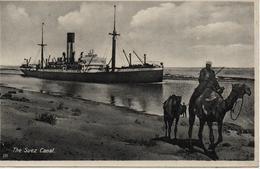 EGYPTE  THE SUEZ CANAL                                                EDIT LEHNERT&LANDROCK - Port-Saïd