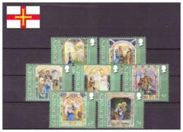 Guernsey 2012 - MNH ** - Noël - Michel Nr. 1401-1407 Série Complète (gbg280) - Guernesey