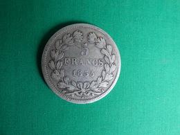 RARE 5 FRANCS 1835  I - J. 5 Francs