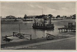 EGYPTE  EL KANTARA  GROSSING OF THE SUEZ CANAL                                                  EDIT LEHNERT&LANDROCK - Port-Saïd