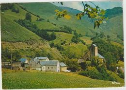 DAV : Pyrénées Atlantiques :  STE  ANGRACE : Vue , église , 1981 - Francia