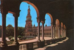 Sévilla Galerie De La Place  D' Espagne - Sevilla