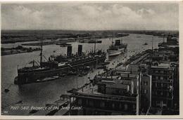 EGYPTE  PORT SAID ENTRANCE OF THE SUEZ CANAL                                                    EDIT LEHNERT&LANDROCK - Port-Saïd