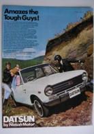ORIGINAL 1969 MAGAZINE ADVERT FOR DATSUN 1000 MOTOR CAR - Advertising