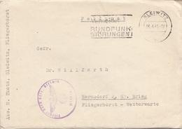 ÖSTERREICH Feldpost-Brief 1941 - Brief M.mehrseitigem Inhalt, Gel.v. Gleiwitz > Hermsdorf über Brieg Fliegerhorst Wetter - Covers & Documents