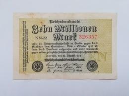 GERMANIA 10 MILLIONEN MARK 1923 - [ 3] 1918-1933 : Repubblica  Di Weimar