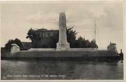 EGYPTE  PORT SAID  WAR MEMORIAL OF THE INDIAN                                                      EDIT LEHNERT&LANDROCK - Port-Saïd
